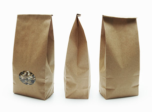 Paper Bags with Round Window