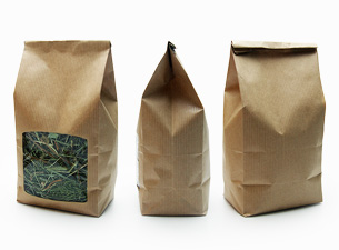 Paper Bags with Square Window
